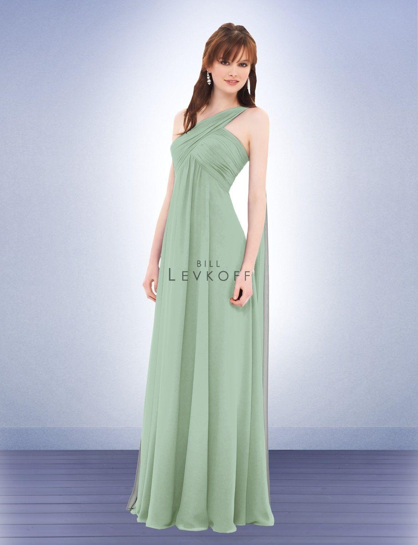 8e0a7601977 Bill Levkoff 675 (Pistachio) Bridesmaid Dress Johnny and Kristina s Wedding