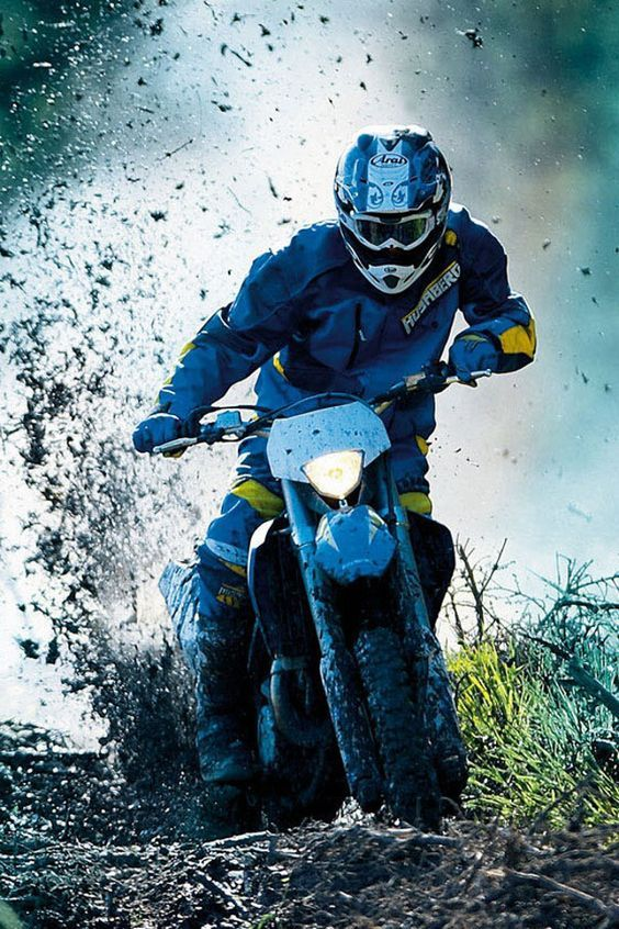 Can't wait April 30 first hare scramble race. Wynoa