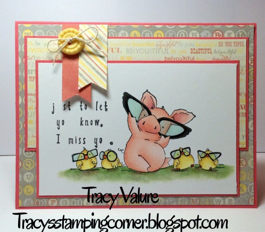 "I miss yo""u"" by Scrapgirl1210 - Cards and Paper Crafts at Splitcoaststampers"