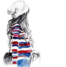 Resultado De Imagen Para Hipster Girl Tumblr Dibujos Fashion