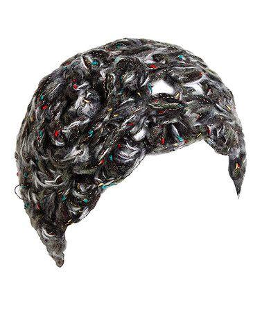 Love this Black & Rainbow Flower Head Wrap on #zulily! #zulilyfinds