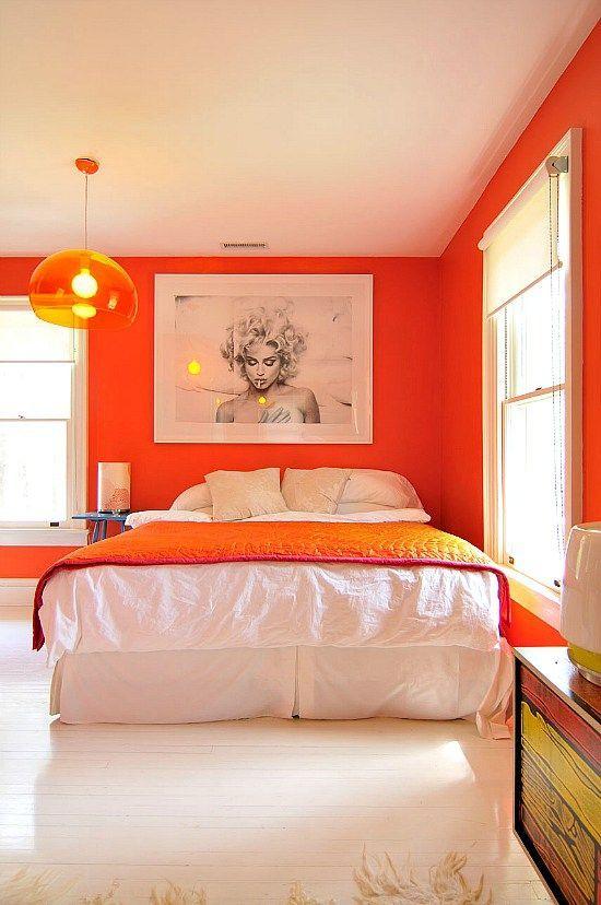 De L Orange Dans La Chambre Floriane Lemarie Idees Decoration
