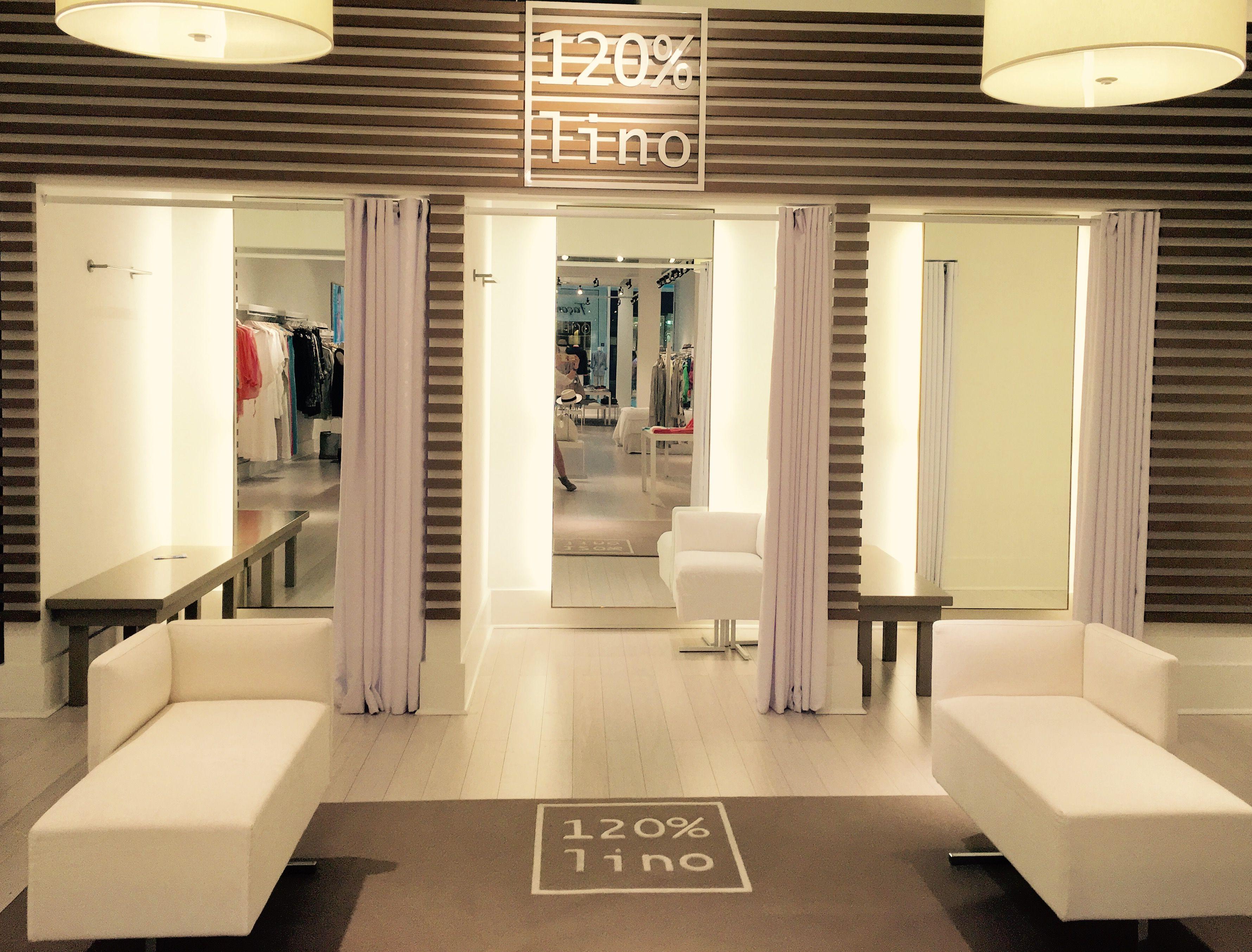Dressing Room Area At Our 120% Lino Aventura Mall Store #120lino  #120linousa #