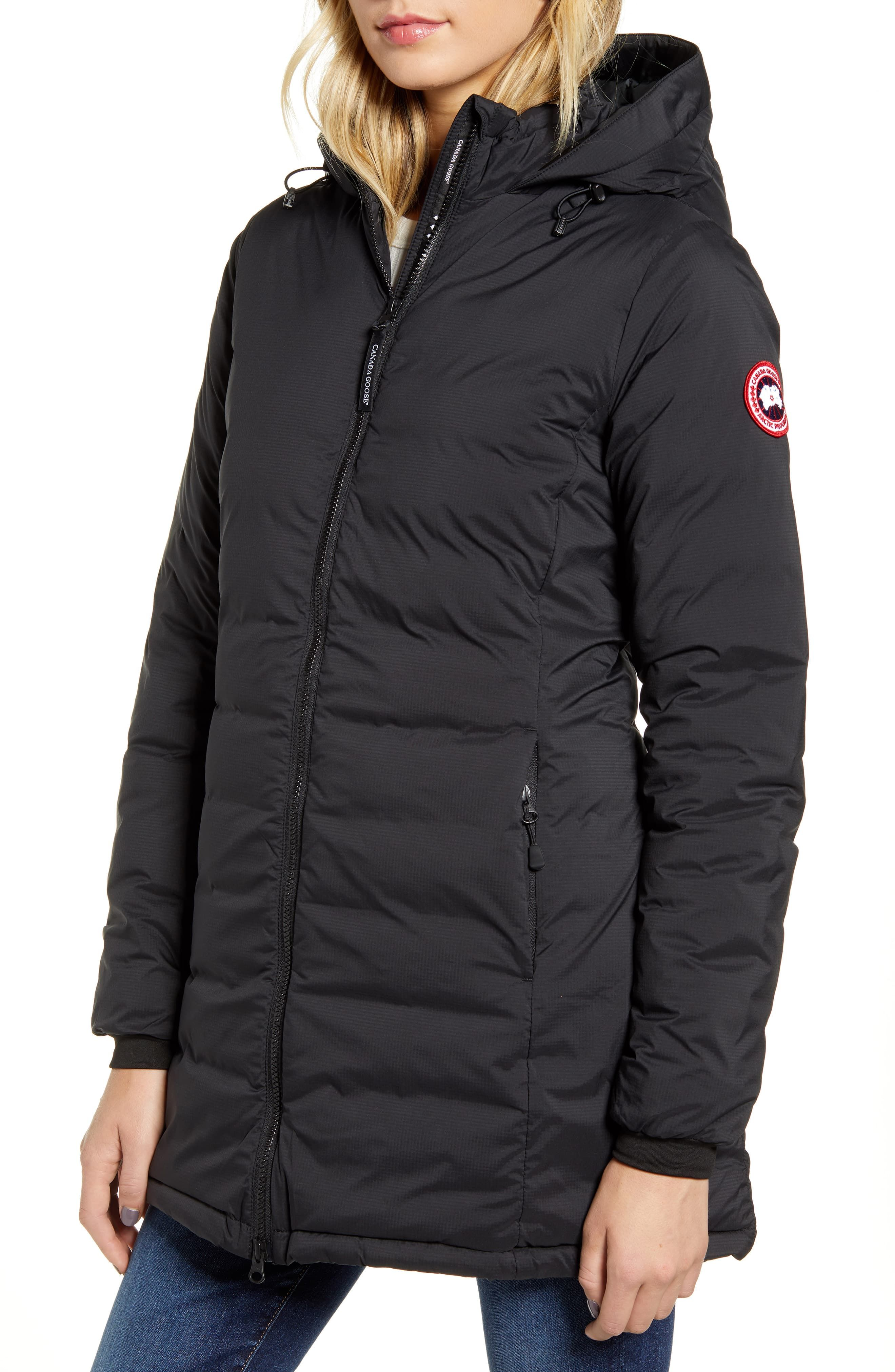 Canada Goose Camp Hooded Down Jacket Nordstrom Down Jacket Slim Fit Jackets Jackets