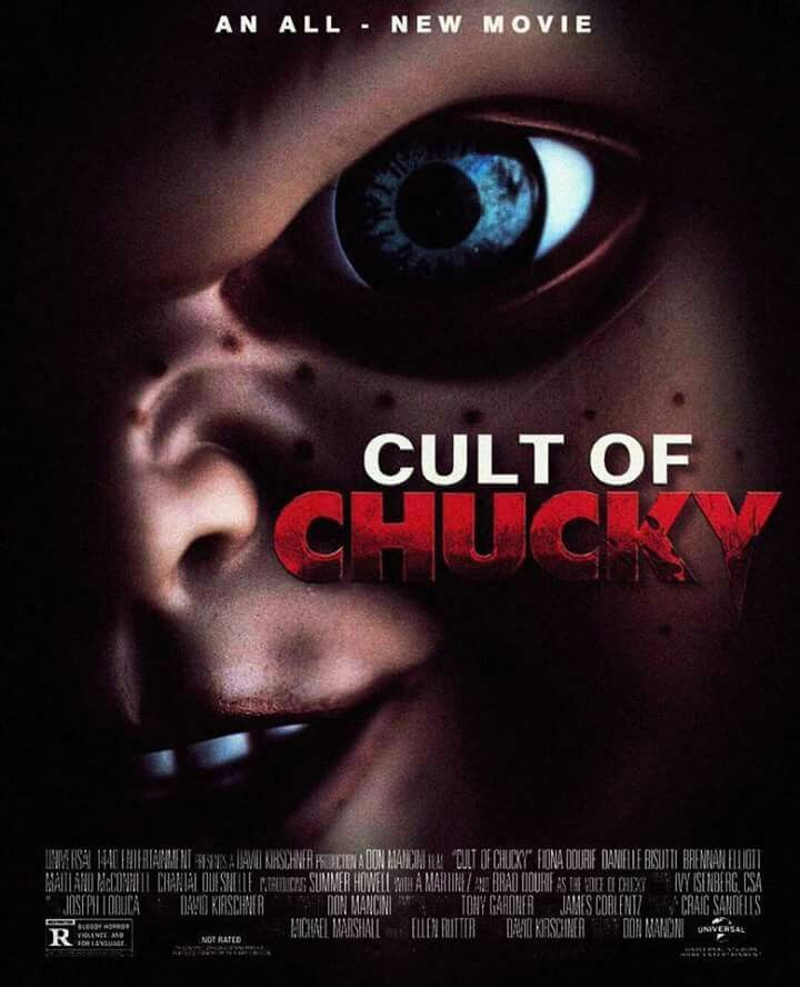 Image result for cult of chucky poster
