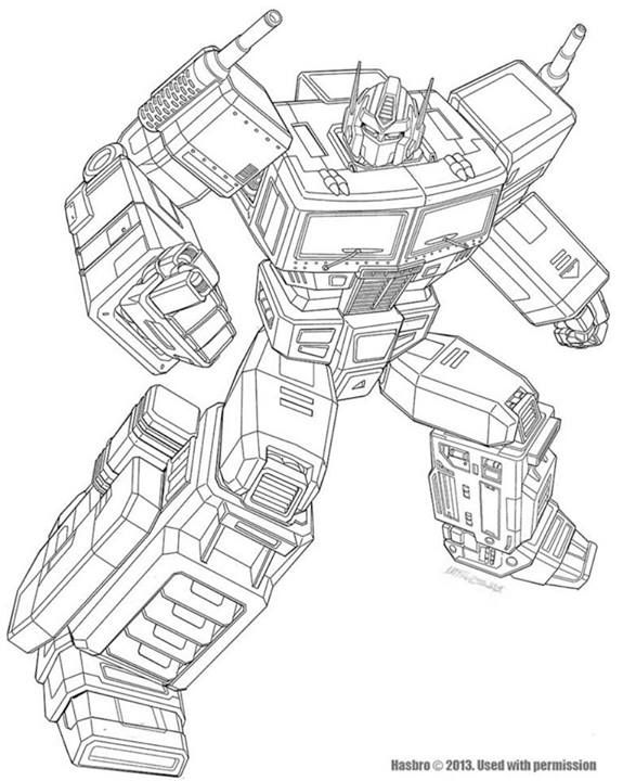 Year Of The Horse Optimus Prime Artwork Pencils And Final Art Transformers News Tf Optimus Prime Artwork Transformers Drawing Transformers Coloring Pages