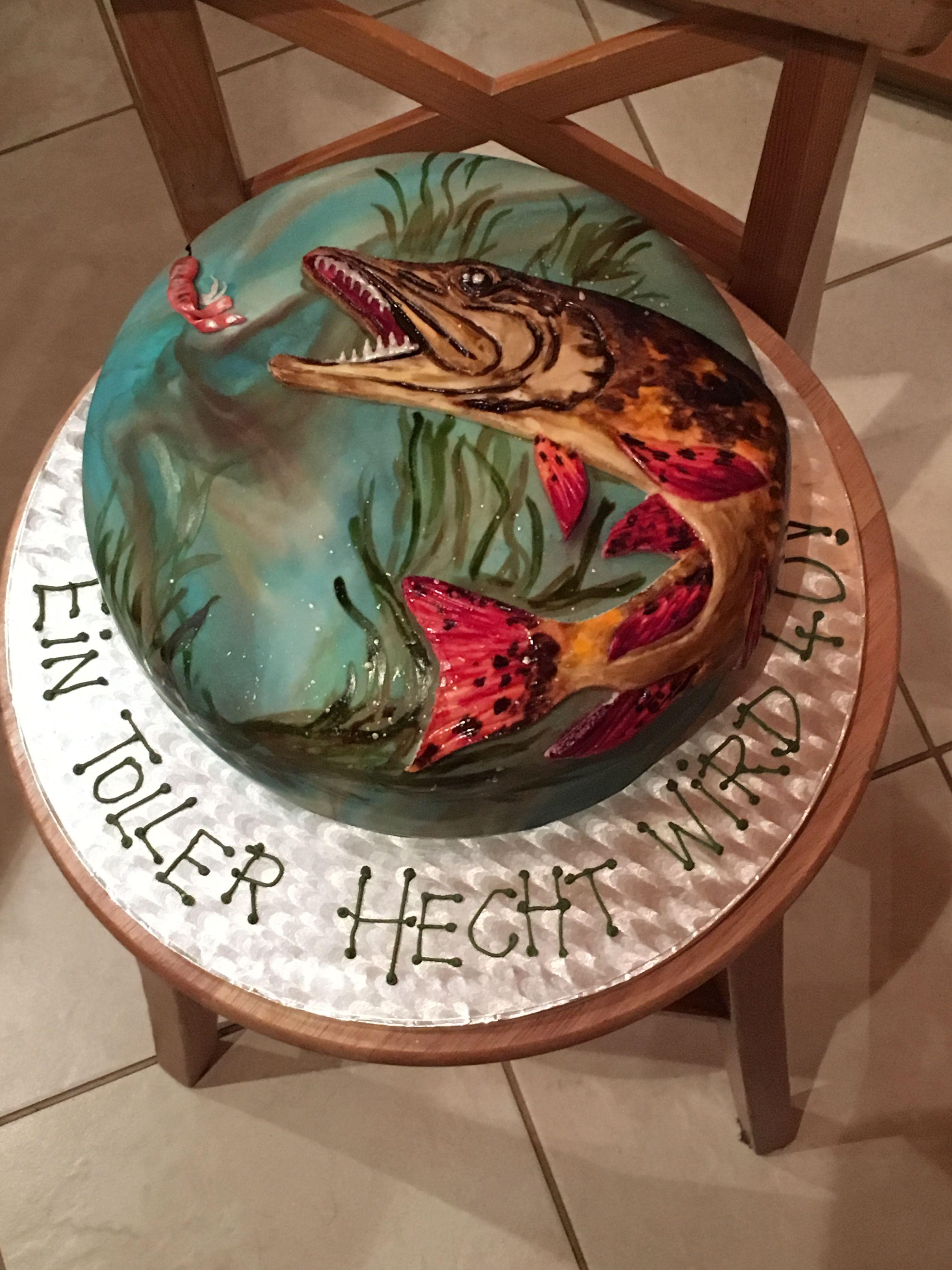 Torte Fur Angler Runder Geburtstag Motivtorten