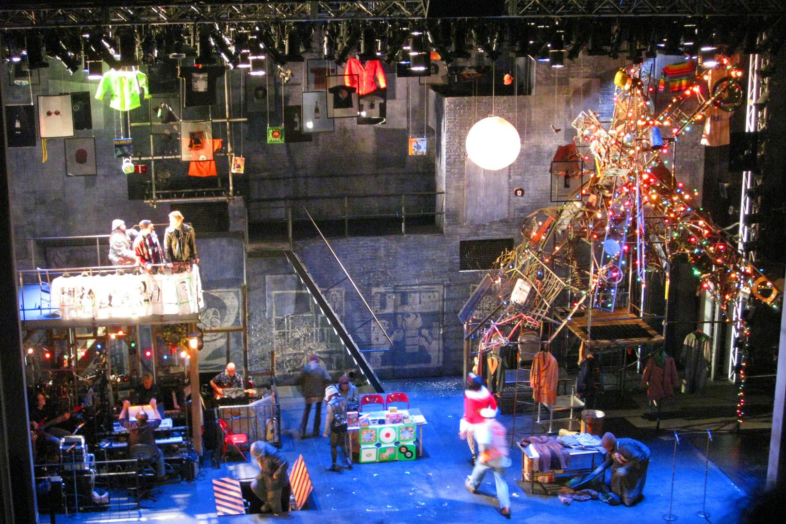 13 Rent Broadway Design Ideas Rent Broadway Nederlander Theatre