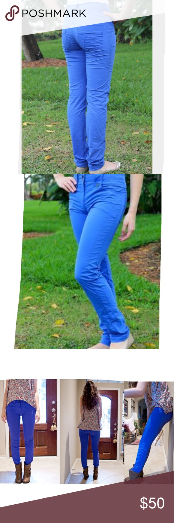 Anatomie Skylar Pants XL Electric Blue Anatomie is known for THE ...