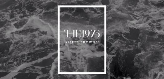 The 1975 Settle down lyrics in snow iphone case