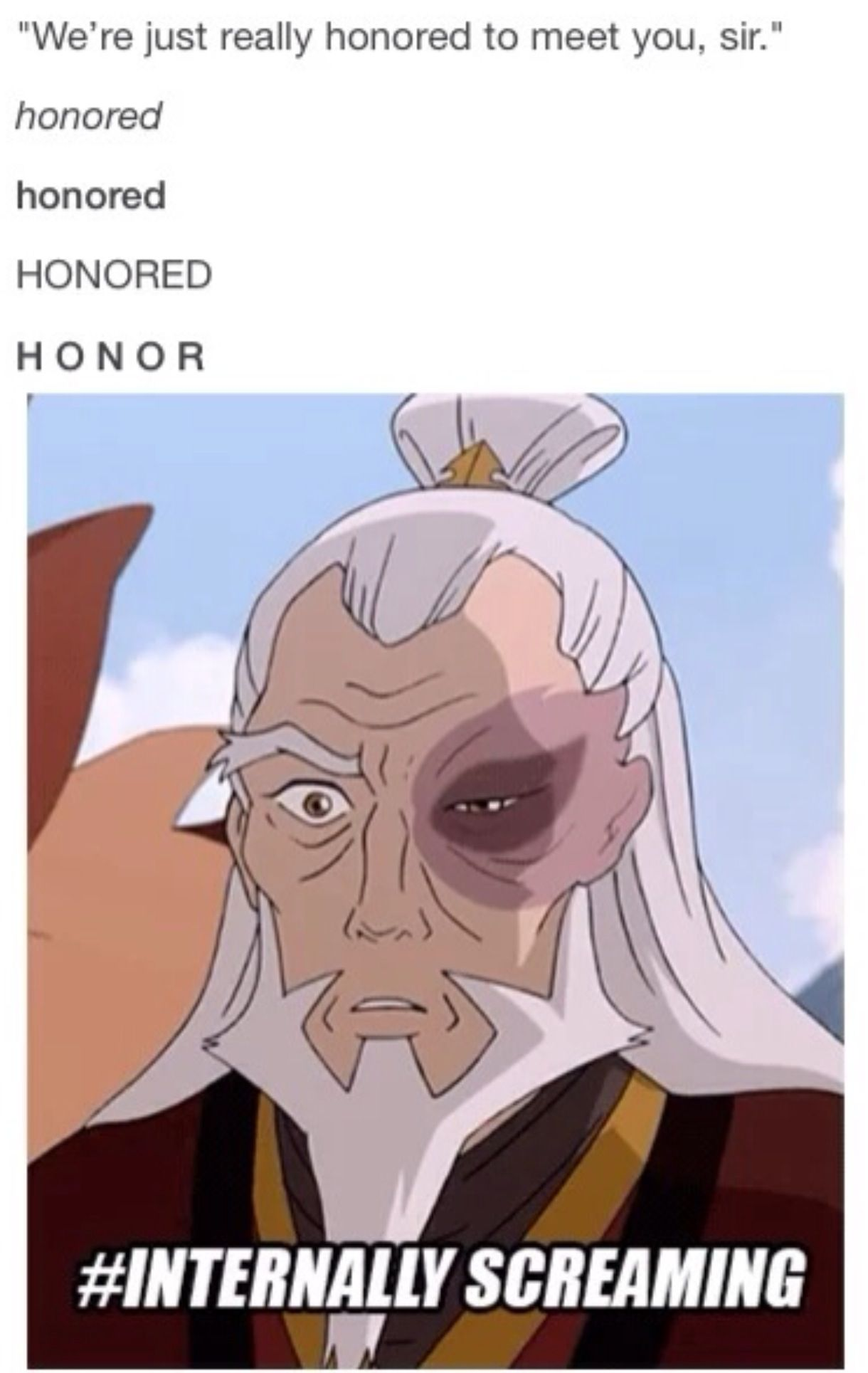 Old man fucking twinkle Even as an old man, Zuko is still perturbed by the concept of honor.