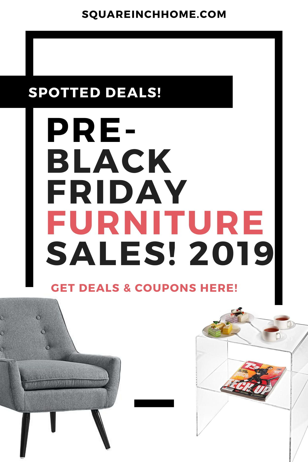 early black friday furniture sales