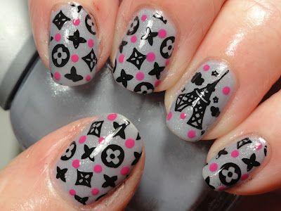 Louis Vuitton  #nail #nails #nailart