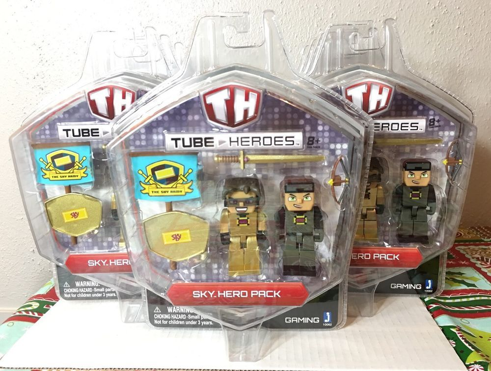 Tube Heroes Sky Action Figure USA