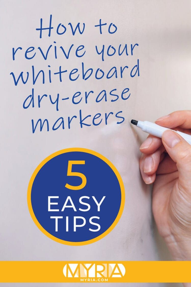 How Can You Revive Whiteboard Dry Erase Markers Myria Dry Erase Dry Erase Markers Markers