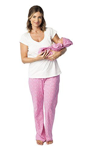 2d629f802bc Baby Be Mine Nursing Pj Set with Matching Baby Outfit (Small pre pregnancy  4-