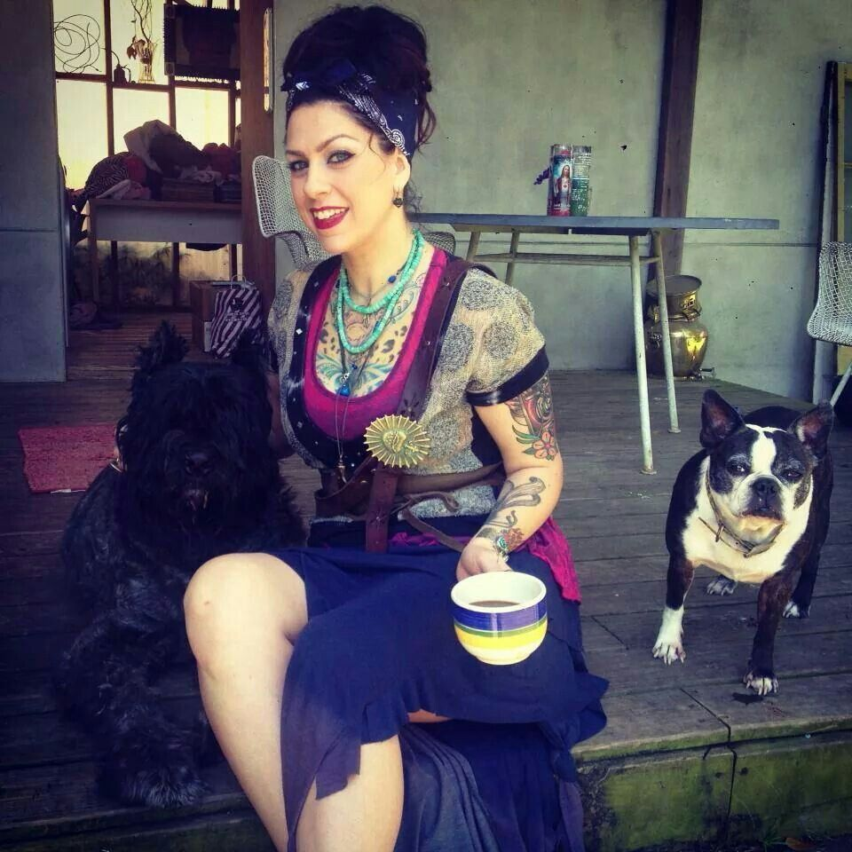 Photo of Danielle Colby & her Dog