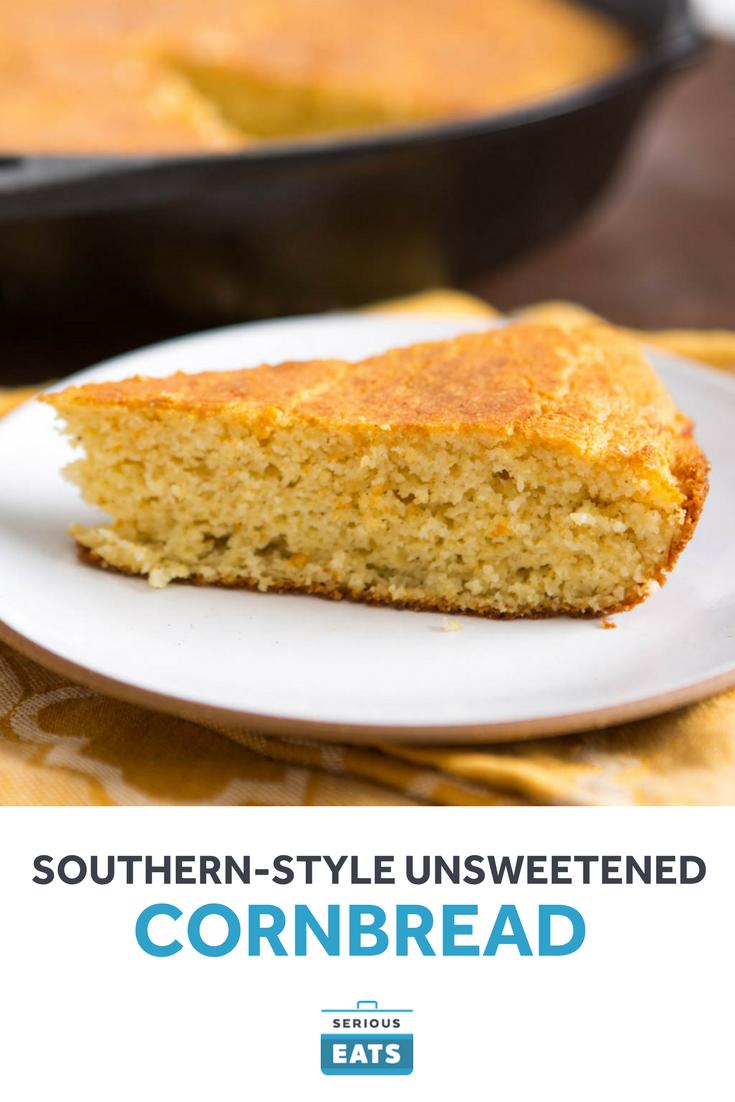 Southern Style Unsweetened Cornbread Recipe Recipe Corn Bread Recipe Unsweetened Cornbread Recipe Food