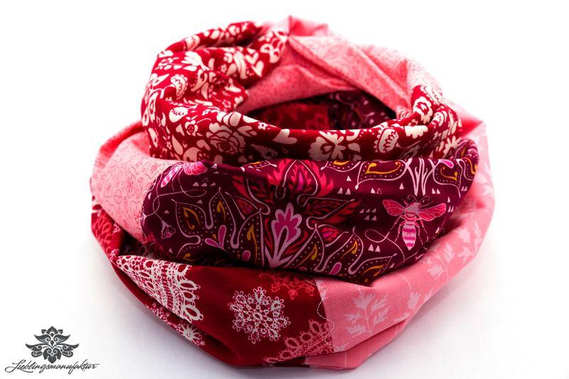 Tuch von Lieblingsmanufaktur: Farbenfrohe Loop Schals, Tücher und mehr auf DaWanda.com