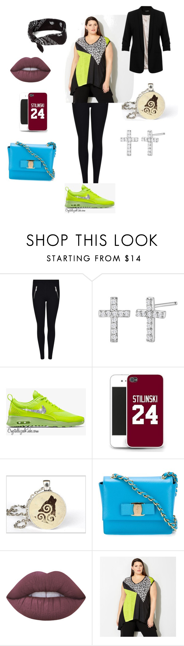 """""""Last week (changed)"""" by letyxftbieber ❤ liked on Polyvore featuring MICHAEL Michael Kors, claire's, CO, Salvatore Ferragamo, Lime Crime, Avenue and Miss Selfridge"""