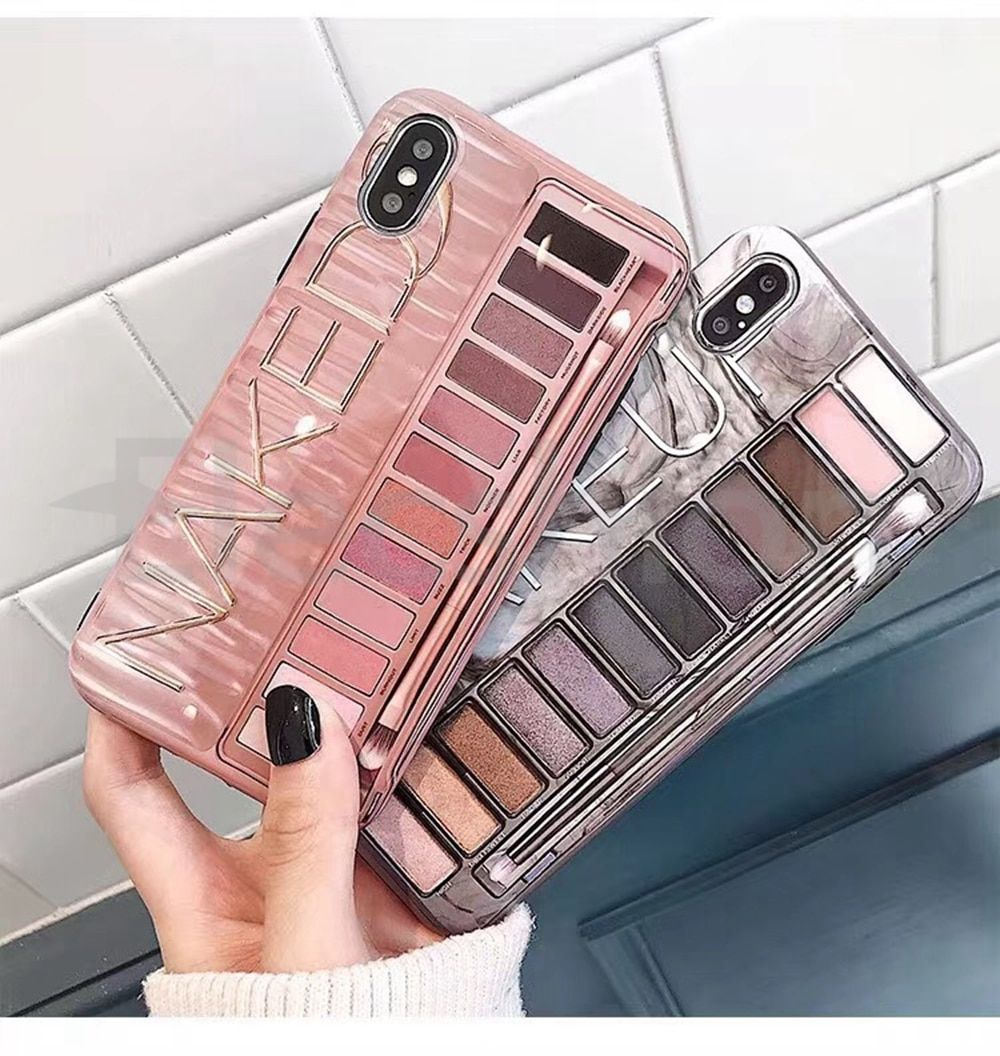 Makeup Eyeshadow Palette phone Case For iphone 11 11 Pro