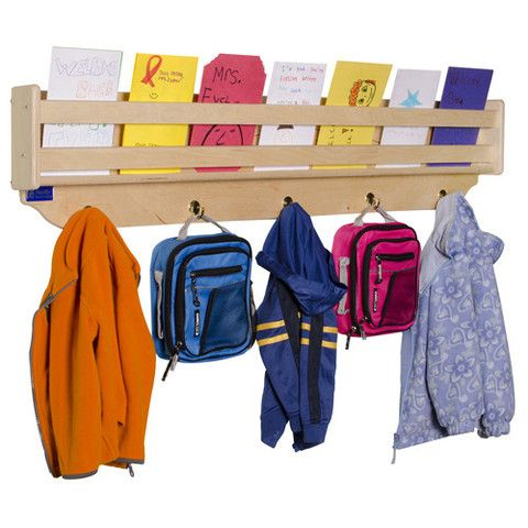 Pin By Colette Pinest Board On Classroom Ideas Coat Rack With Storage Wall Mounted Coat Rack Cloakroom Storage