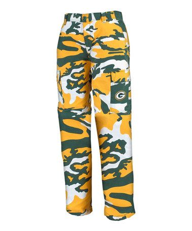 37a15e010c7 Green Bay Packers Camo Pants - Men by North Bay Apparel | Are you ...