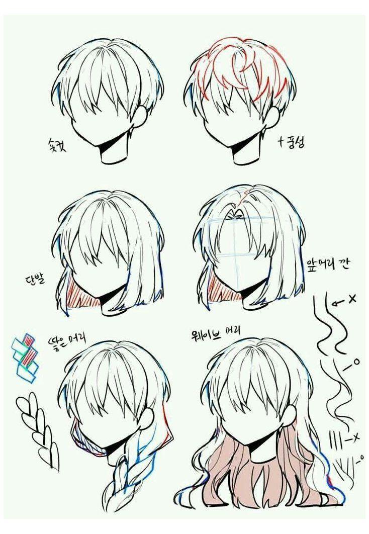 Photo of manga drawing tutorials
