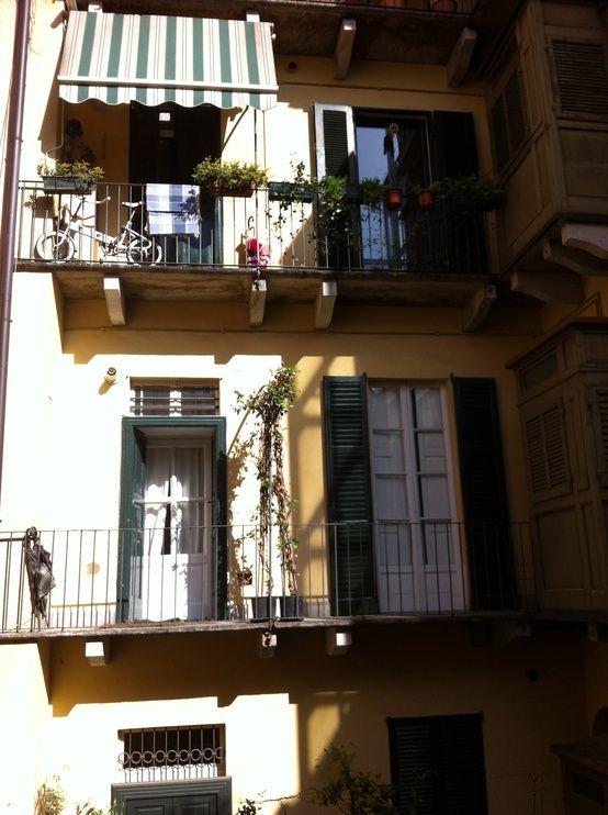 Buongiorno Milano :)  My cute home <3