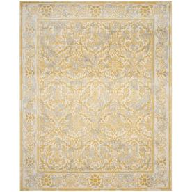 Safavieh Evoke Penny Ivory Gold Indoor Area Rug Common 10 X 14 Actual 10 Ft W X 14 Ft L Evk242s 10 Floral Area Rugs Oriental Area Rugs Area Rugs