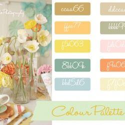 Vintage Pallette Vintage Colour Palette Vintage Color Schemes