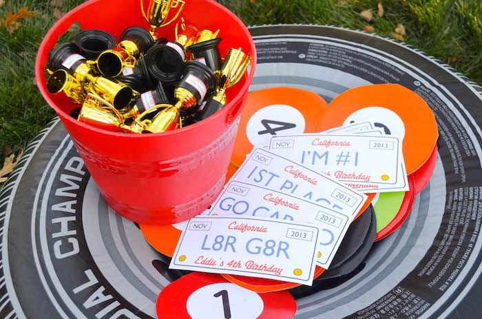 Auto Themed Party Ideas Race Car Themed Birthday Party Via Karas