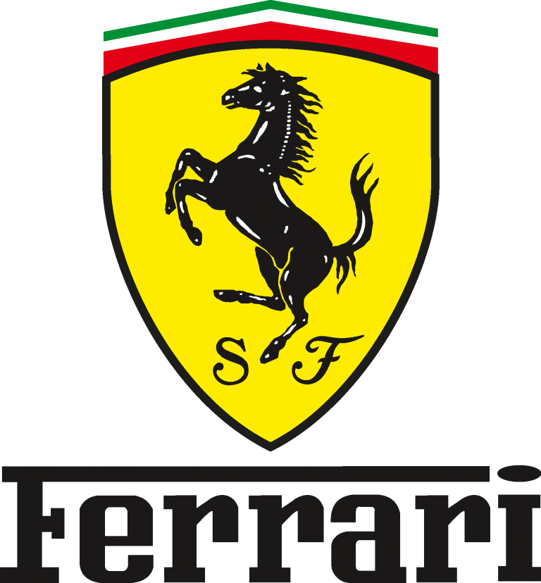 Ferrari Emblem and Logo Download Vector in 2020 (With
