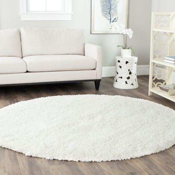 Tolle Runder Weisser Teppich Weisser Teppich Sofa Weiss Teppich Design