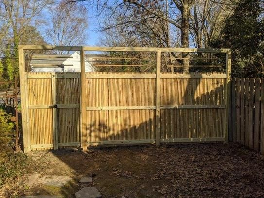 Backyard X-Scapes 6 ft. H x 8 ft. W x 1 in. D Natural ...