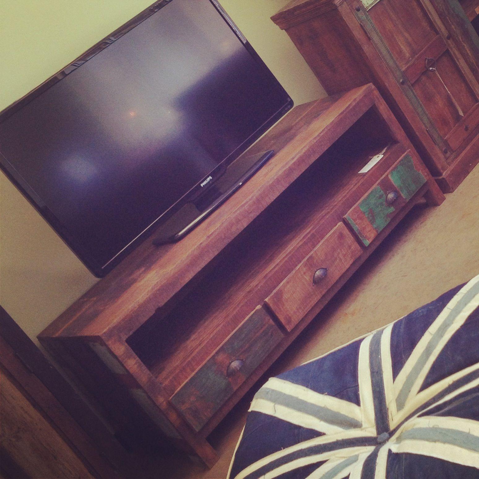 Low Media Console Import, Distressed, Rustic, Unique, Vintage Furniture  Fayetteville, AR
