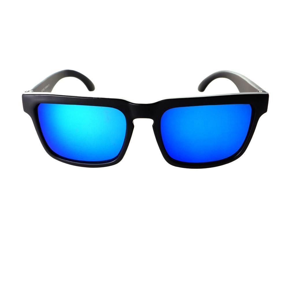 993829f3589 Cool Mirror Lens Party Style Keyhole Matte Sunglasses W76