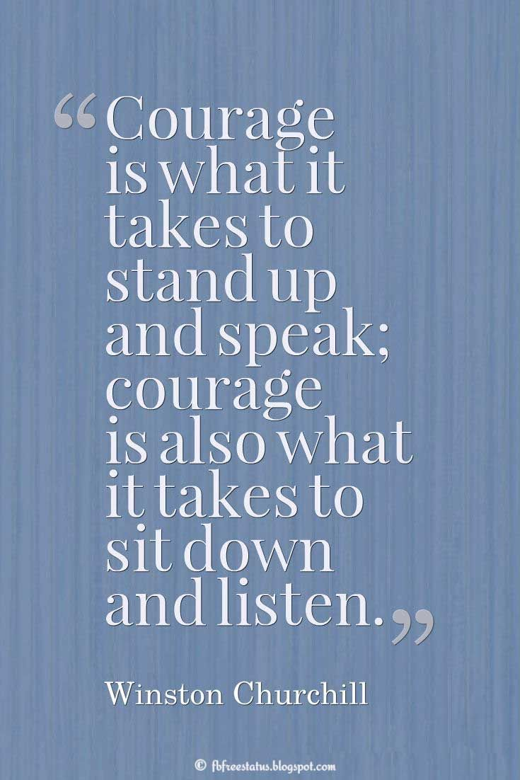 Quotes About Courage Beauteous Inspirational Quotes On Courage  Courage Quotes  Pinterest .