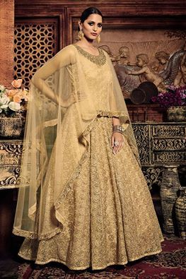 b09c0b472e Be the trendsetter adorning this ultra fashionable cape-style gown. Buy  Indian Gown online