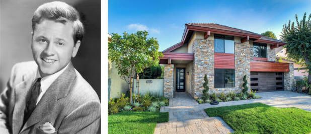 Step Inside The Homes Of Your Favorite Old Hollywood Stars Mickey Rooney