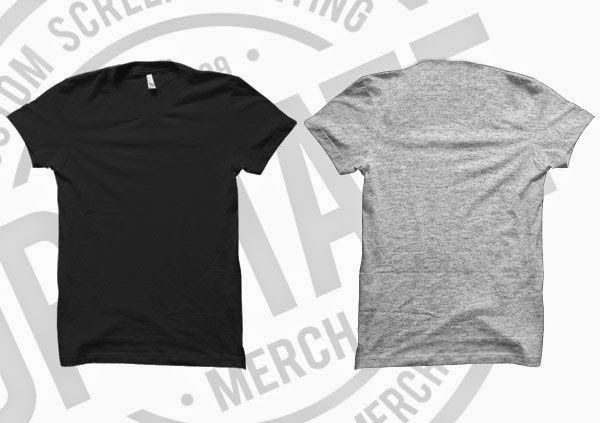 t shirt mockup template for free