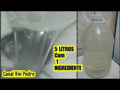 5 Litros De Lauril Caseiro Ou Detergente Neutro Com 1 Produto