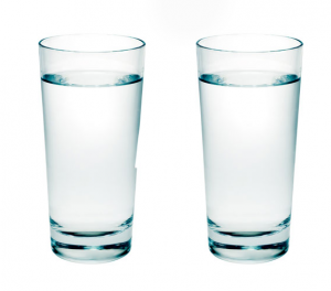 Image result for 2 glass of water