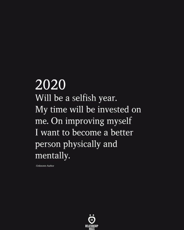 Photo of 2020 Will Be A Selfish Year. My Time Will Be Invested On Me – New Ideas