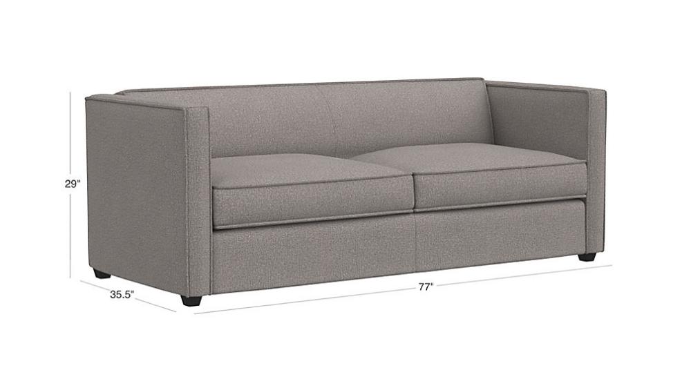 Club Queen Sleeper Sofa Reviews Cb2 Sleeper Sofa Sofa Best Sleeper Sofa