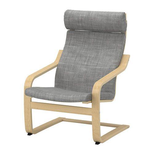 POäNG Fåtölj IKEA Skiktlimmad och formböjd björk ger behaglig svikt Den höga ryggen ger bra