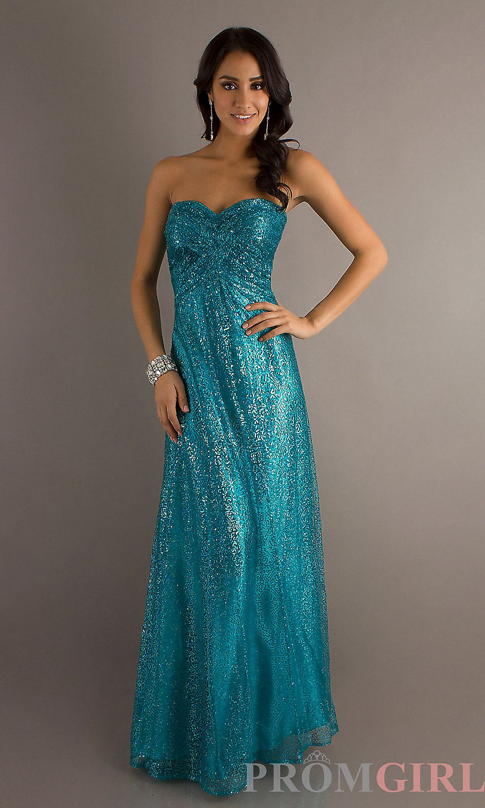 Love this!!! Teal sequin prom dress | Virtual closet | Pinterest ...