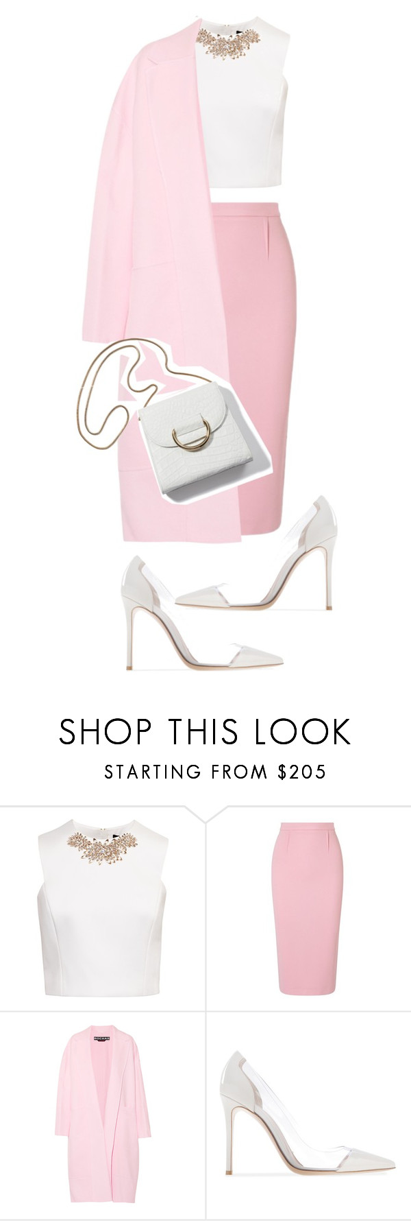 """""""#140"""" by marishkabondareva ❤ liked on Polyvore featuring Ted Baker, Roland Mouret and Rochas"""
