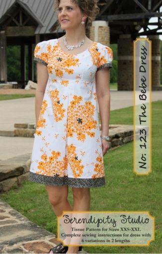 Bernadette Dress (Pattern)   Möglicherweise, Schnittmuster und Nähen
