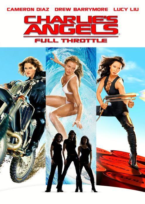 Charlie S Angels Full Throttle 2003 Angel Movie Charlies Angels Movie Charlies Angels